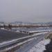 岡山の雪景色!あな珍しや!